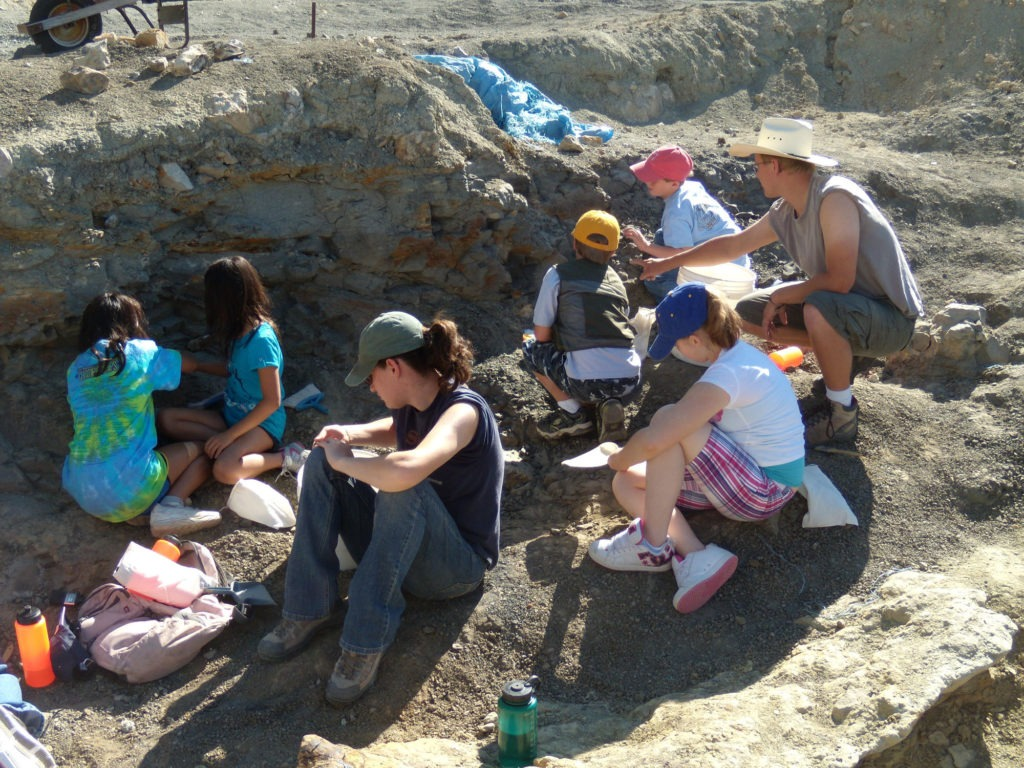 Dig for a Day with the Wyoming Dinosaur Center